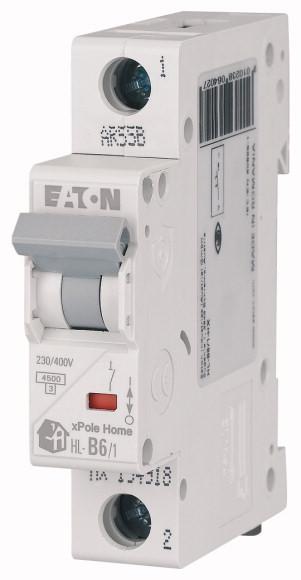 Выключатель автоматический модульный 1п C 16А 4.5кА HL-C16/1 EATON 194731 купить в интернет-магазине RS24