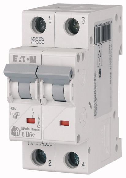 Выключатель автоматический модульный 2п C 25А 4.5кА HL-C25/2 EATON 194773